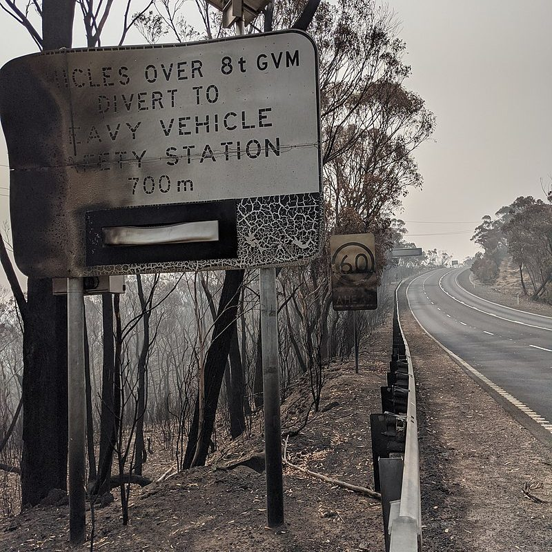 Australian Bushfires - Reducing Climate Change With Solar Panels